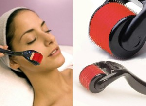 derma roller for scars removal and wrinkles