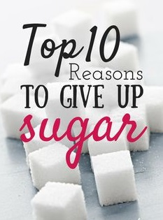10 reasons why to avoid sugar