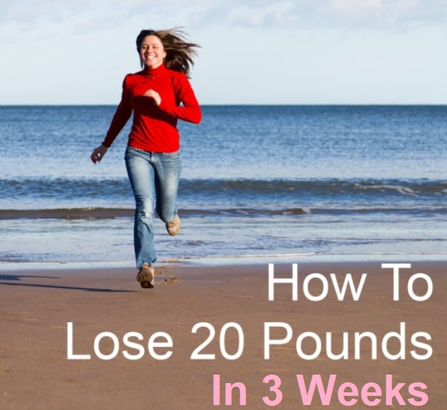 lose weight in 3 weeks cardioversion