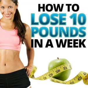 how to lose 10 pounds in a week - diet plan to lose 10 lbs