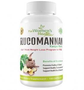 Glucomannan capsules, weight loss supplements, diet pills, konjac root, lose weight fast